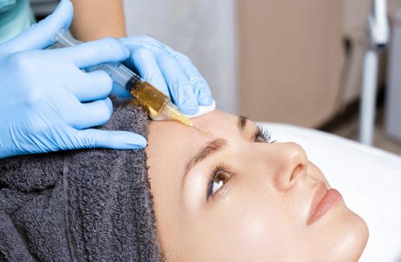 Процедура плазмотерапии